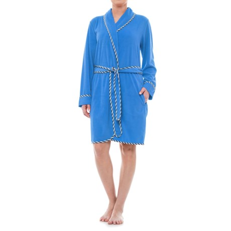 KayAnna Terry Wrap Robe - Long Sleeve (For Women)