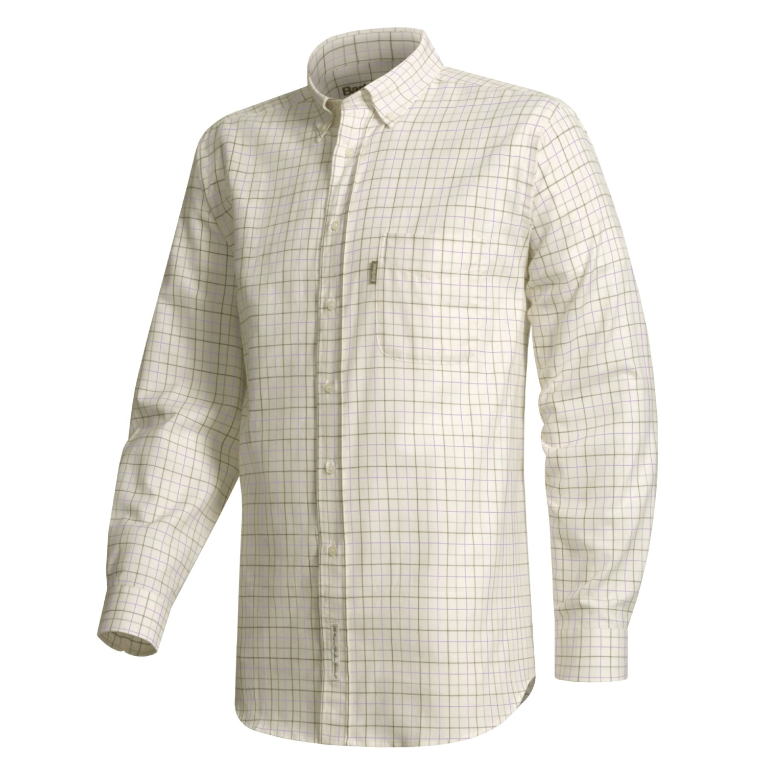 barbour field button down collar tattersall shirt for men