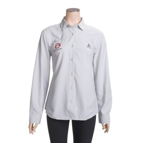 Odlo UPF 50+ Shirt - Long Sleeve (For Women)