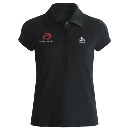 Odlo UPF 50+ Polo Shirt - Short Sleeve (For Women)
