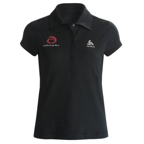 Odlo UPF 50+ Polo Shirt - Short Sleeve (For Women)