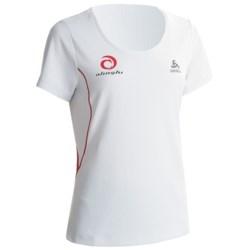 Odlo Base Layer Top - UPF 30+, Short Sleeve (For Women)