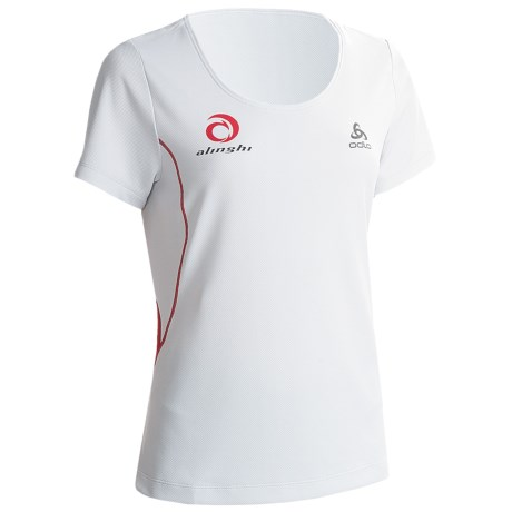 Odlo Base Layer Top - UPF 30+, Short Sleeve (For Women)