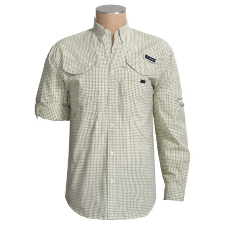 Columbia Sportswear Super Bonehead Classic Shirt - UPF 30, Long Sleeve (For Big and Tall Men)