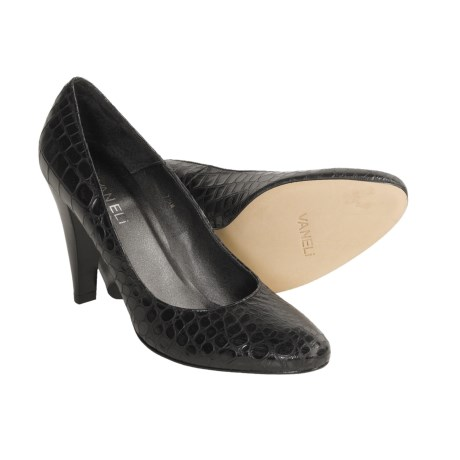 Vaneli Lolly Pumps - Croc-Print Leather (For Women)