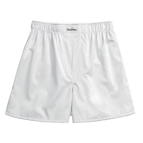 Goodhew Sateen Boxer Shorts - Egyptian Cotton (For Men)