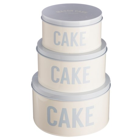 Rayware Group Cash Bakewell Cake Tins - Set of 3