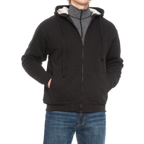 Cactus Sherpa Fleece-Lined Hoodie (For Men)