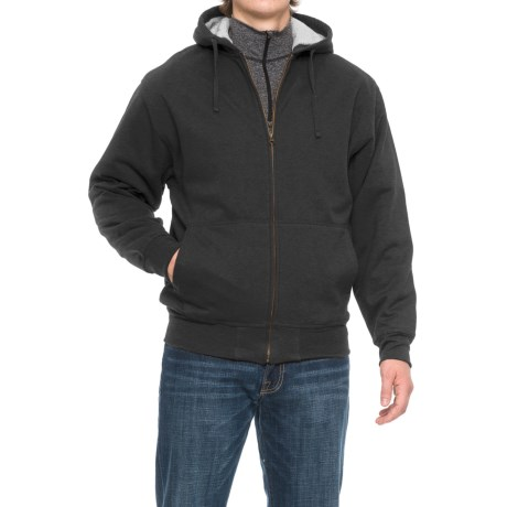 Cactus Sherpa Fleece-Lined Hoodie (For Men)
