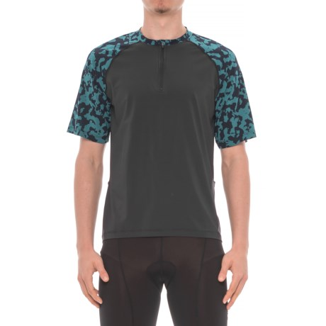 Club Ride Camotion Cycling Jersey - UPF 20+, Zip Neck, Short Sleeve (For Men)