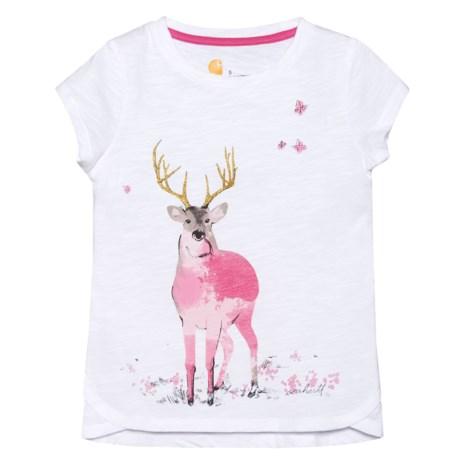 Carhartt Meadow Deer T-Shirt - Short Sleeve (For Big Girls)