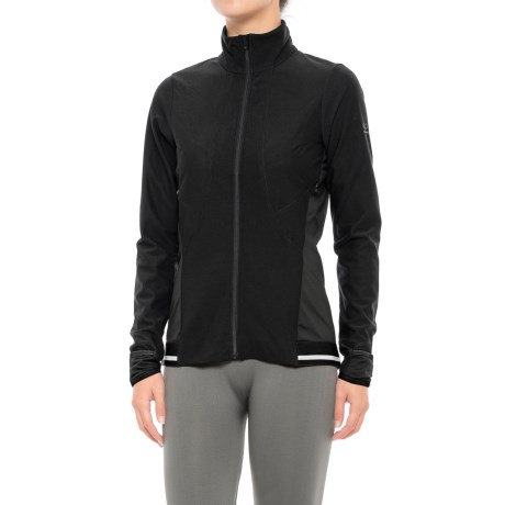 Gore Running Wear Air 2.0 Lady Windstopper® Jersey Jacket - Full Zip (For Women)