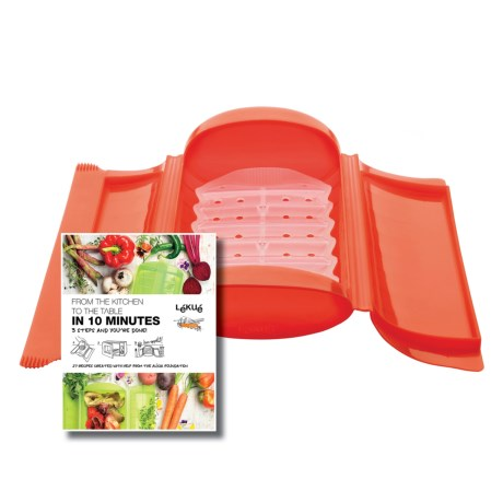 Lekue Silicone Steam Case and Tray