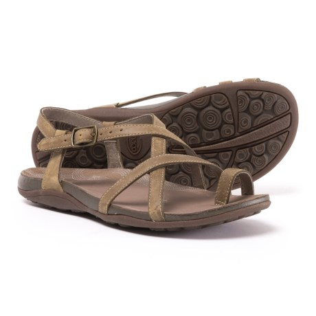 Chaco Dorra Leather Sandals (For Women)