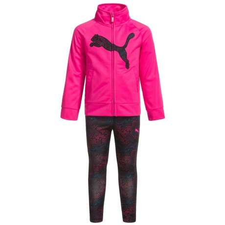 Puma Jacket and Leggings Set (For Toddler Girls)