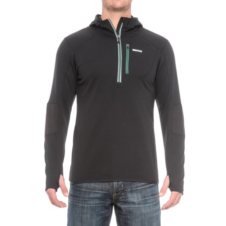 Avalanche Off the Grid Fleece Hooded Shirt - Zip Neck, Long Sleeve (For Men)
