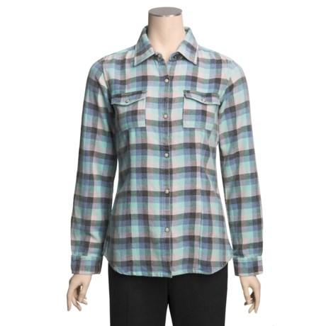 Gramicci Mondeo Terrabella Flannel Shirt - Long Sleeve (For Women)