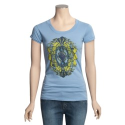 Gramicci Corawood Tunic T-Shirt - Organic Cotton, Short Sleeve (For Women)
