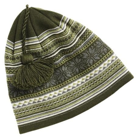 SmartWool Full Powder Day Hat - Merino Wool (For Men and Women)