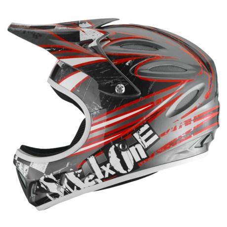Six Six One Strike MTB Bike Helmet - Full Face (For Kids)