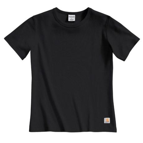 Carhartt Crew Neck T-Shirt - Short Sleeve (For Women)