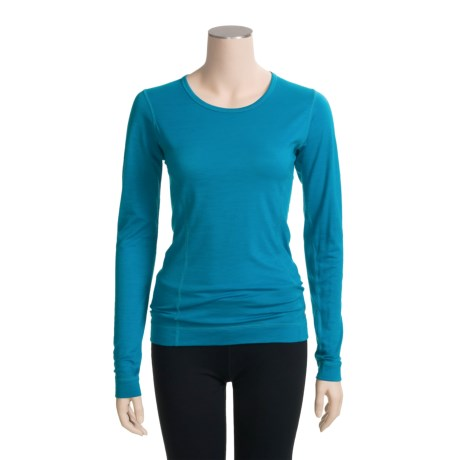 SmartWool Microweight Base Layer Top - Merino Wool, Long Sleeve (For Women)