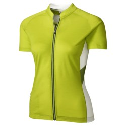 SmartWool Channing Cycling Jersey - Merino Wool, Short Sleeve (For Women)