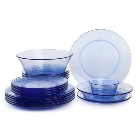 Duralex Lys Glass Dinnerware Set - 20-Piece