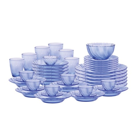 Duralex Beau Rivage Dinnerware Set - 44-Piece