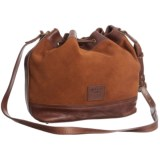 Will Leather Goods Astoria Drawstring Bucket Bag - Leather (For Women)