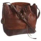 Will Leather Goods Astoria Drawstring Bucket Bag (For Women)