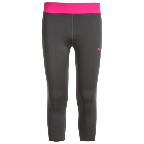 Puma Color-Block Tech Capris (For Big Girls)