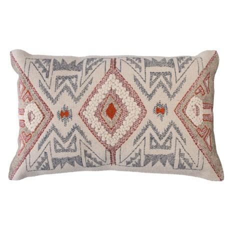 Loloi Woven Pattern Decor Pillow - 13x21""