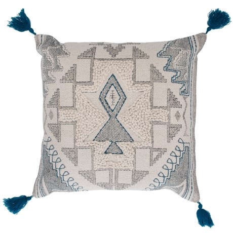 Loloi Woven Pattern Decor Pillow - 18x18""