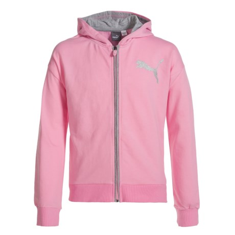 Puma French Terry Zip Hoodie (For Big Girls)