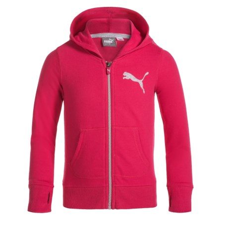 Puma Zip Hoodie (For Little Girls)