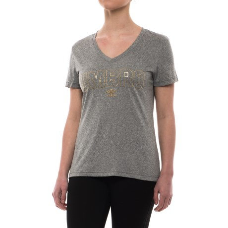 Umbro Gold Climate Shirt - Crew Neck, Short Sleeve (For Women)