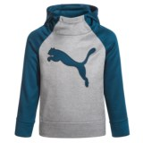 Puma Color-Block Fleece Hoodie (For Little Boys)