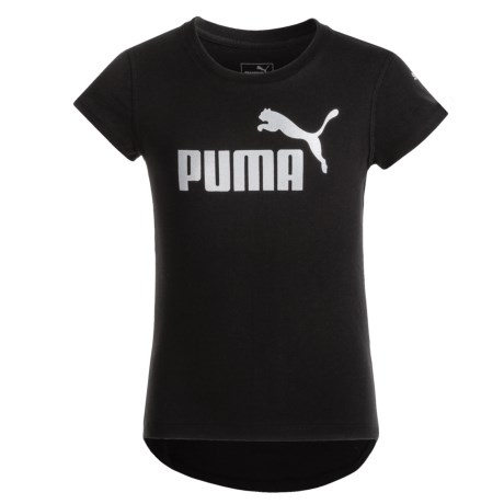 Puma Logo T-Shirt - Short Sleeve (For Big Girls)