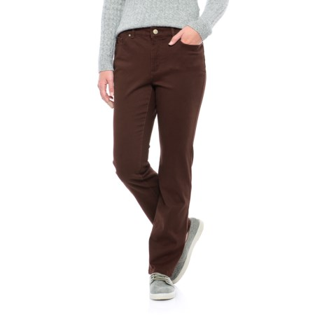 Specially made Lexington Stretch-Twill Pants - Straight Leg (For Women)