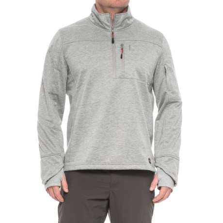 Khombu Zip Neck Fleece Jacket - Waterproof (For Men)