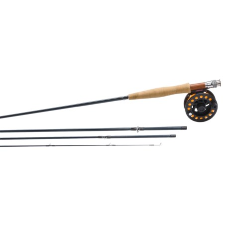 Redington Crosswater Fly Fishing Outfit - 4-Piece, 9'