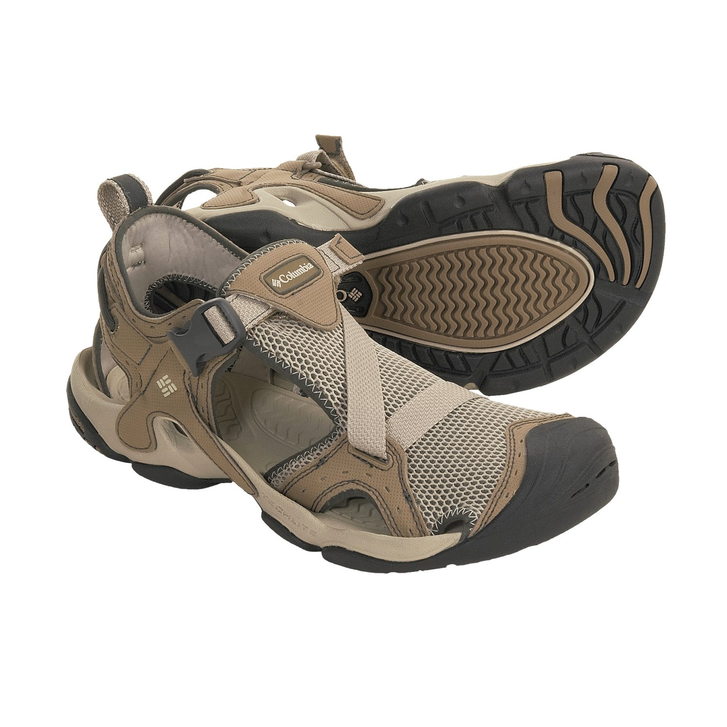 Columbia footwear pfg reel deal sport sandals for men 3065t for Columbia fishing shoes