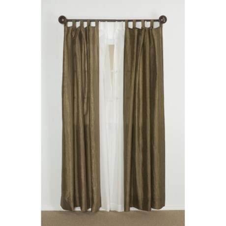 "Habitat Monet Curtains - 84"", Tab-Top"