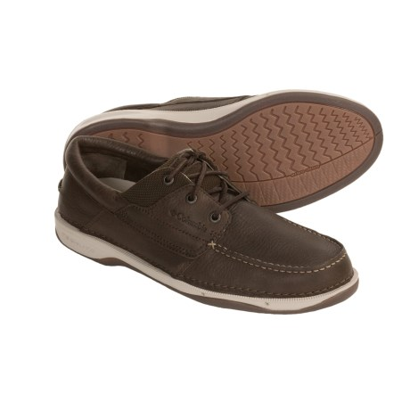 Columbia Sportswear Catamar Boat Shoes - Full-Grain Leather (For Men)