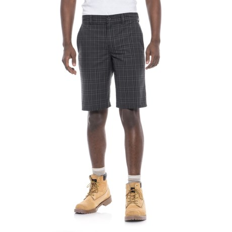 Dickies Regular Fit Plaid Shorts (For Men)