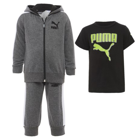 Puma T-Shirt, Hoodie and Sweatpants Set (For Infants)