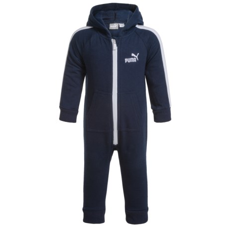 Puma Hooded Baby Bodysuit - Long Sleeve (For Infants)