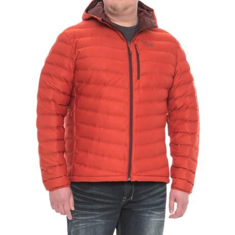 Mountain Hardwear StretchDown Hooded Jacket - 750 Fill Power (For Men)