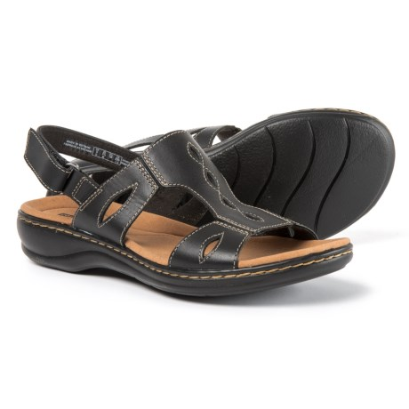 Clarks Leisa Lakelyn Sandals - Leather (For Women)